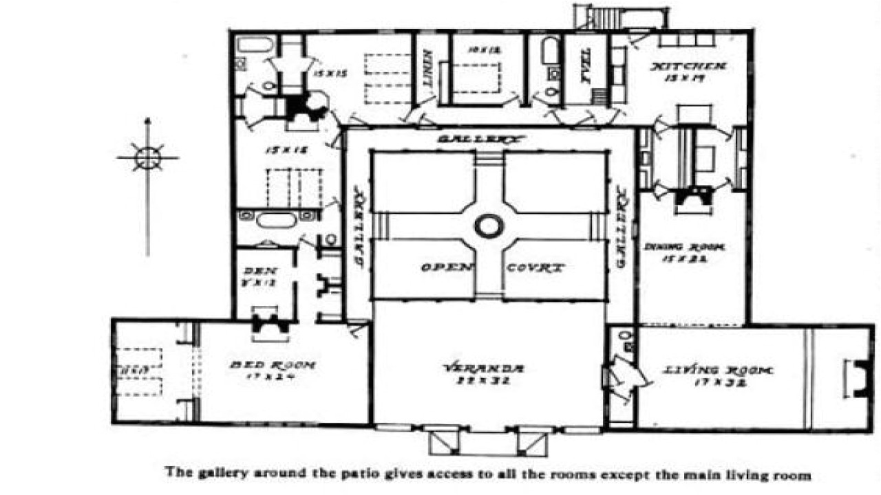 a8bd5de2ab7d0244 hacienda style house plans with courtyard small hacienda house plans