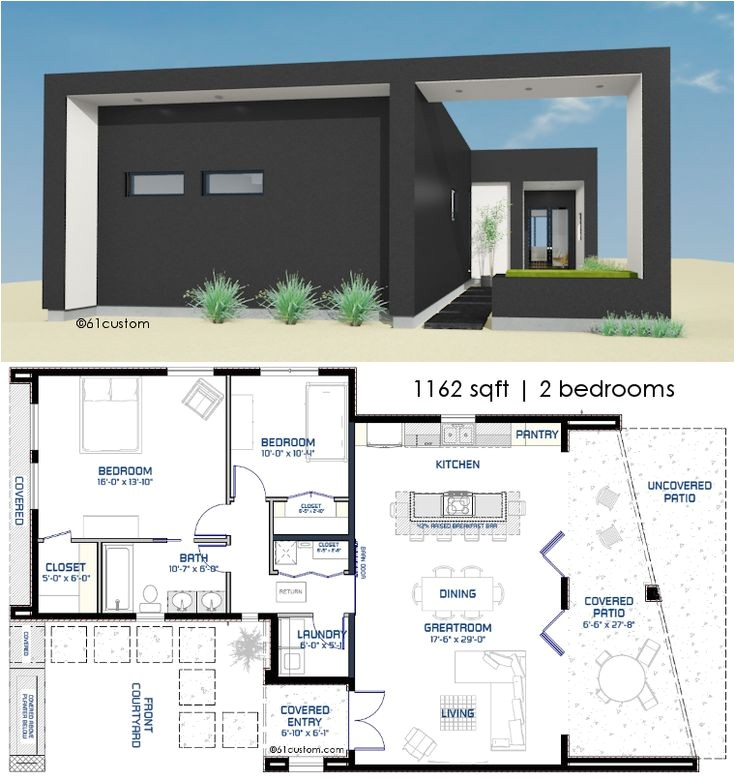 Small Courtyard Home Plans Small Front Courtyard House Plan Front Courtyard Small