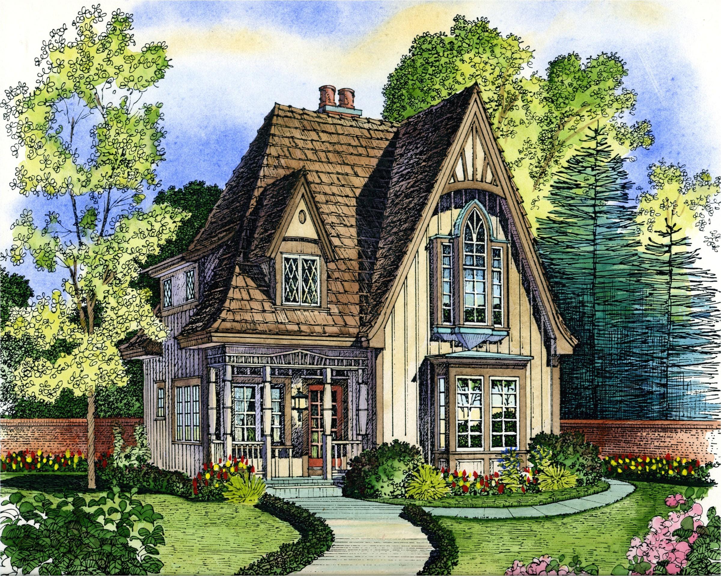 Small English Cottage Home Plans Small English Cottage House Plans Planning House Plans
