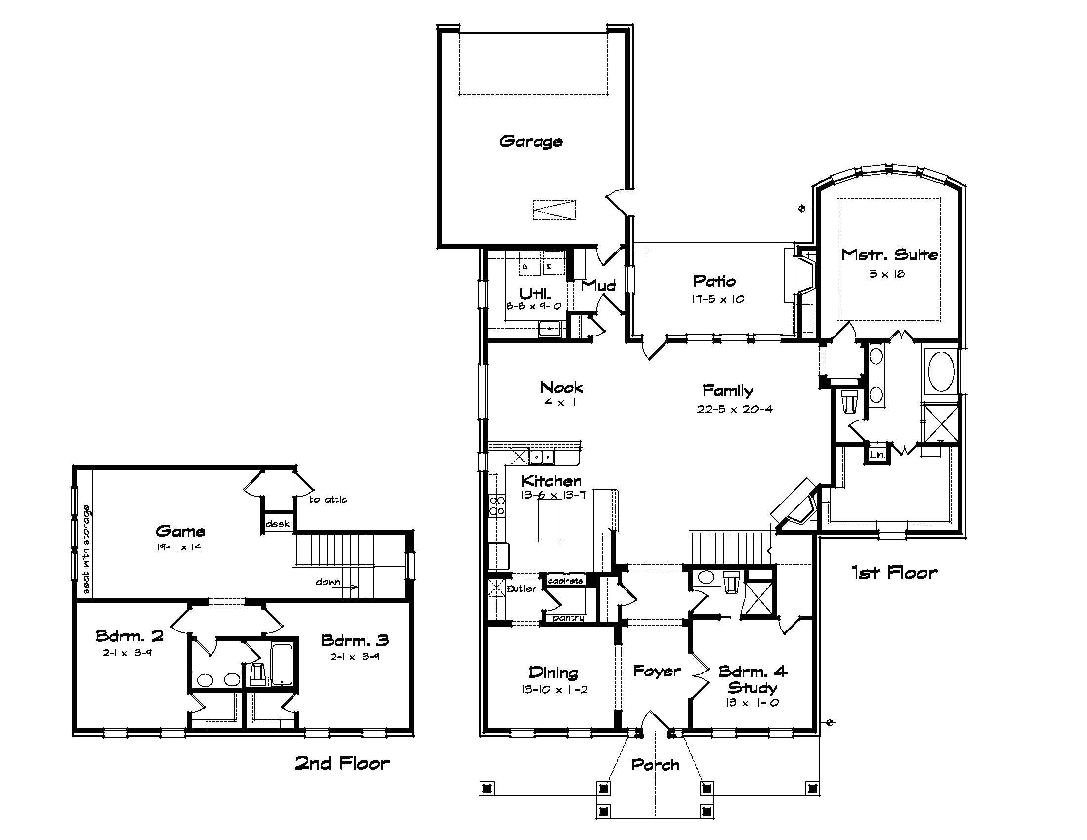 small family home plans
