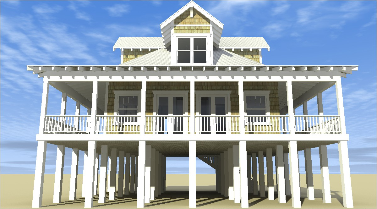 classic florida cracker beach house plan 44026td