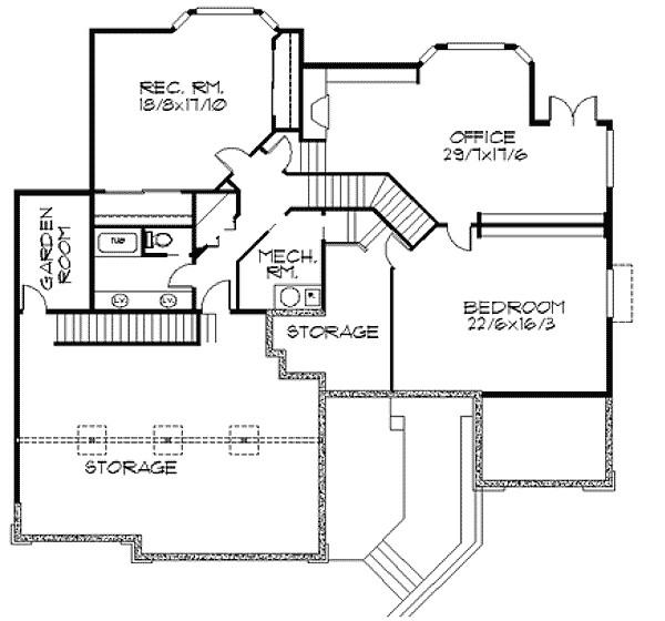 frank lloyd wright inspired home plan 85003ms