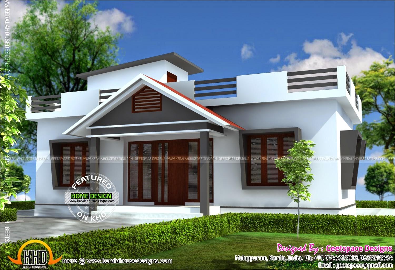 small budget home plans design kerala