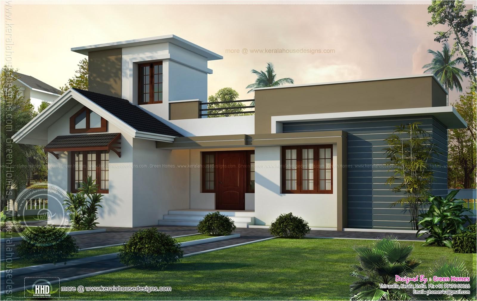 adorable small house design kerala