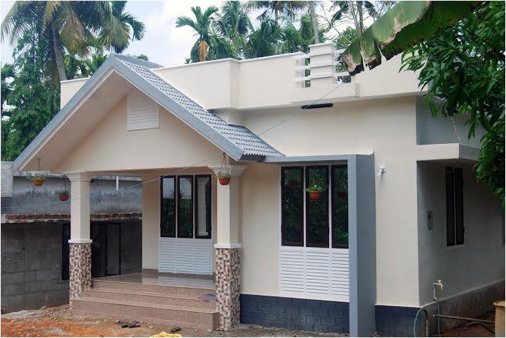 800 sqft small budget kerala home design