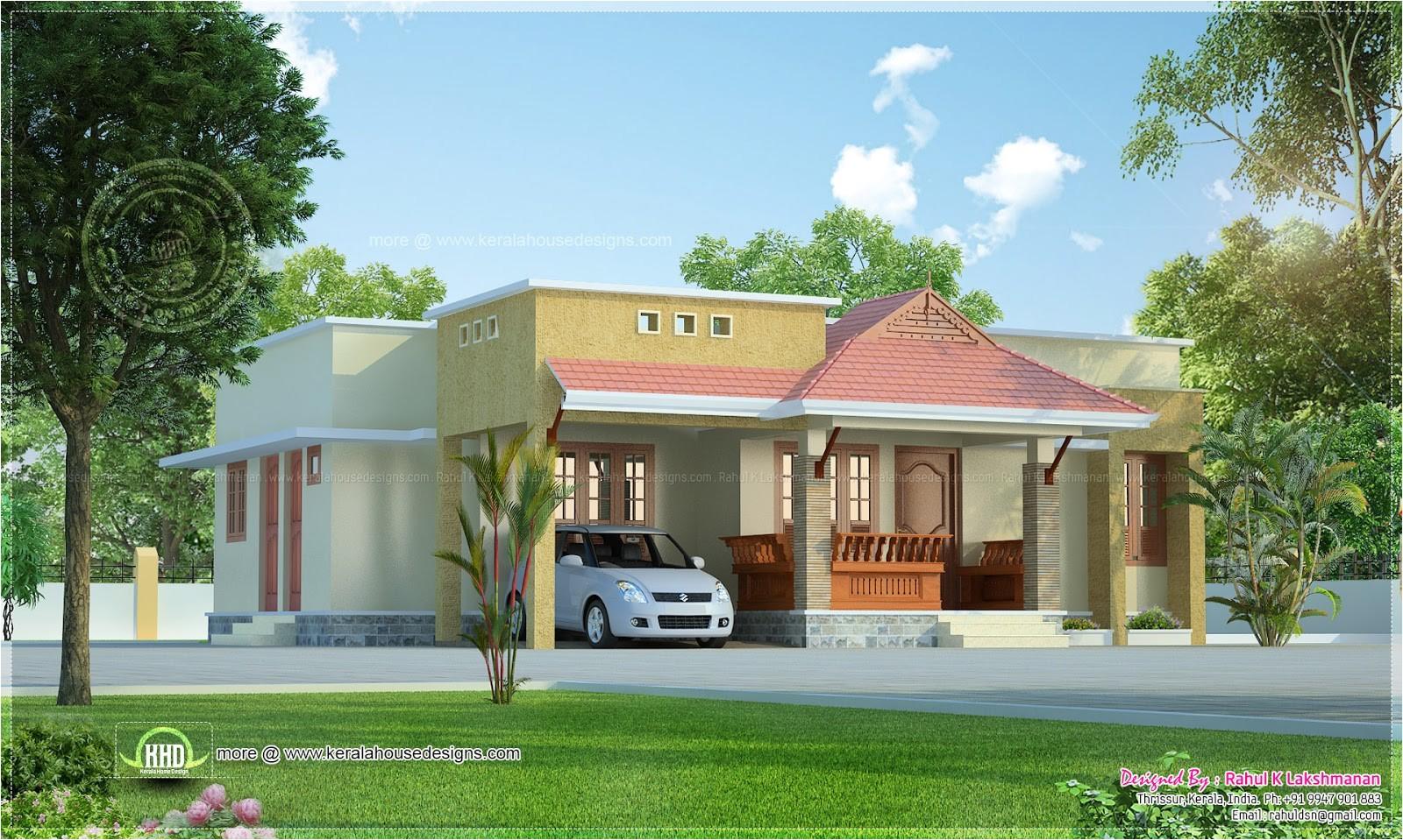kerala style small house