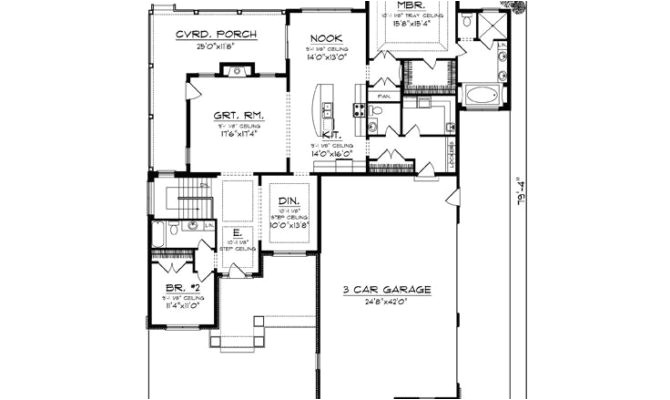 22 cool empty nester house plans