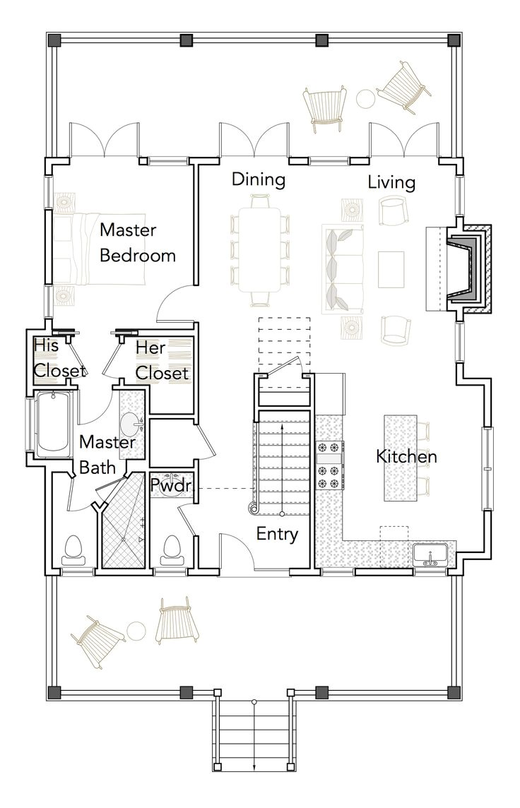 empty nesters house plans and ideas