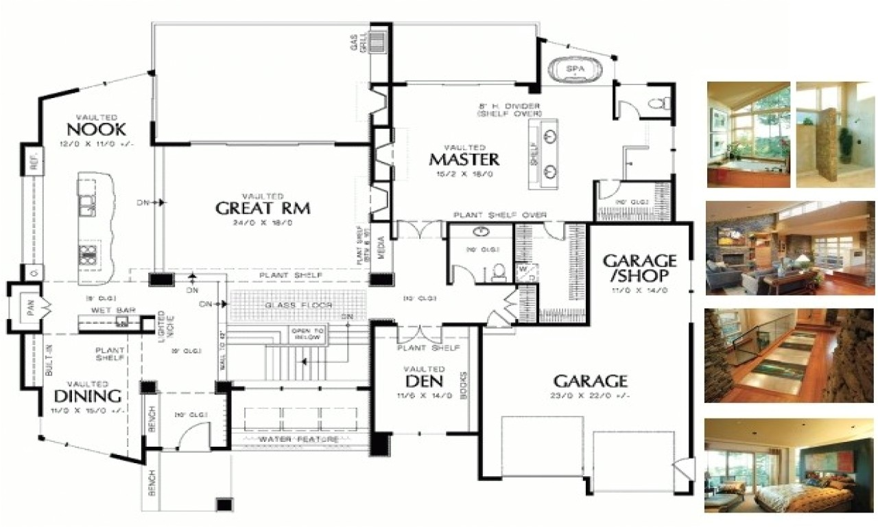 small house plans empty nesters