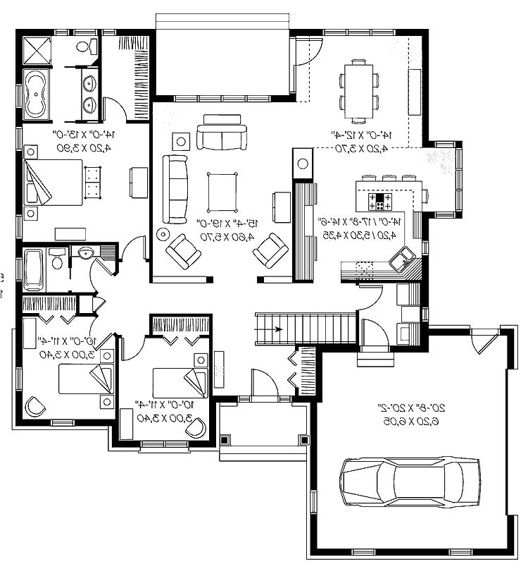 house plans for empty nesters