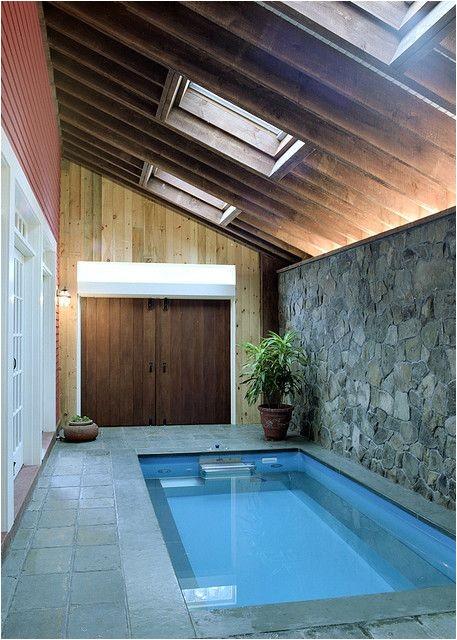 small indoor pool