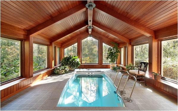 design ideas for indoor swimming pools