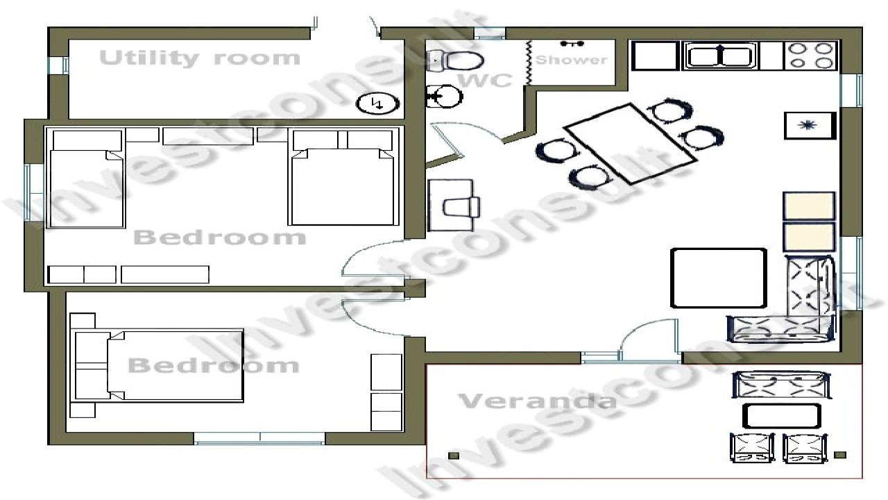 22f72070d932b7a2 small two bedroom house floor plans house plans with two master bedrooms