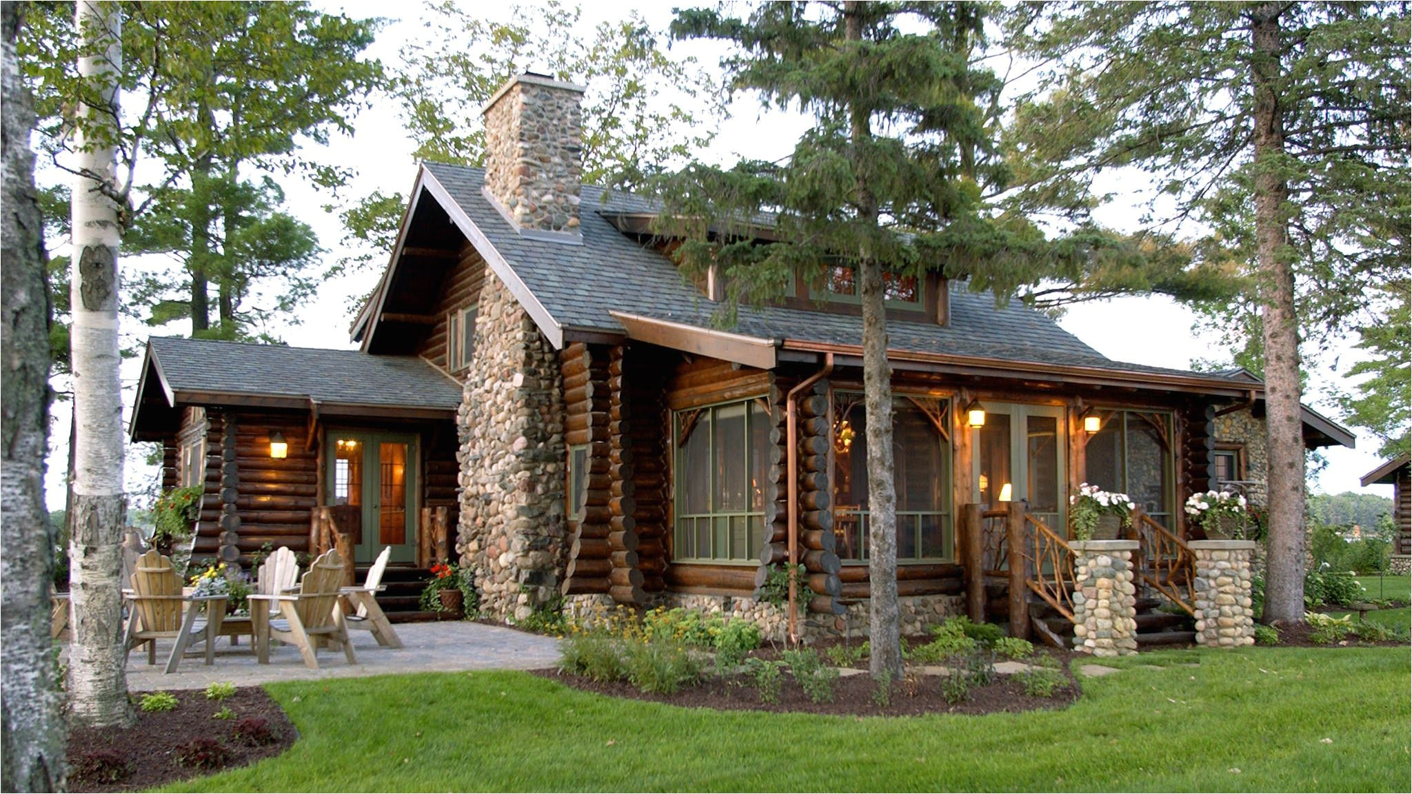 small lake house plans with photos
