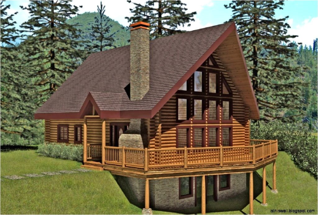 log cabin house plans small