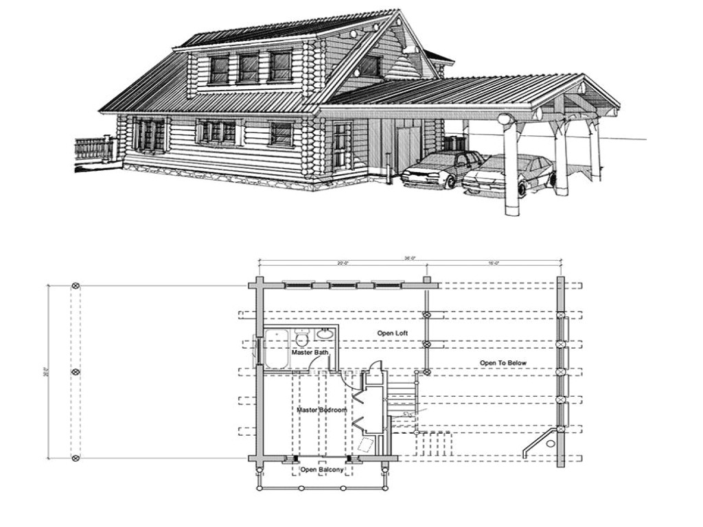 6bebacac2db54007 small log cabin floor plans with loft log cabin doors