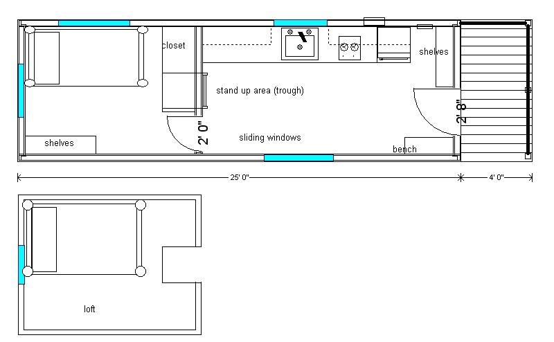 portable cabin plans
