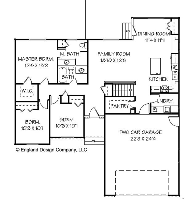 Small Ranch Homes Floor Plans Amazing Small Ranch House Plans 8 Small Ranch House Floor