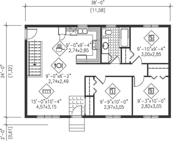 Small Ranch Homes Floor Plans Floor Plans for Small Ranch Homes Luxury Main Floor Plan