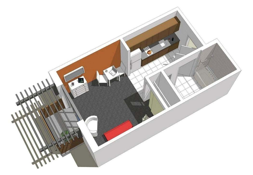 creative small studio apartment floor plans and designs