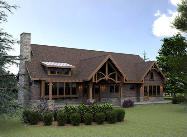 small timber frame home plans