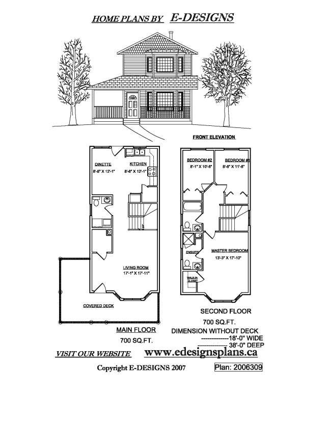 small 2 story house plans