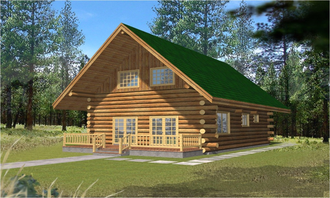 Small Vacation Home Plans with Loft Small Log Cabins with ...