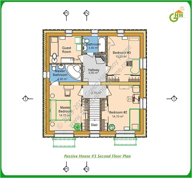 passive solar cooling home plans
