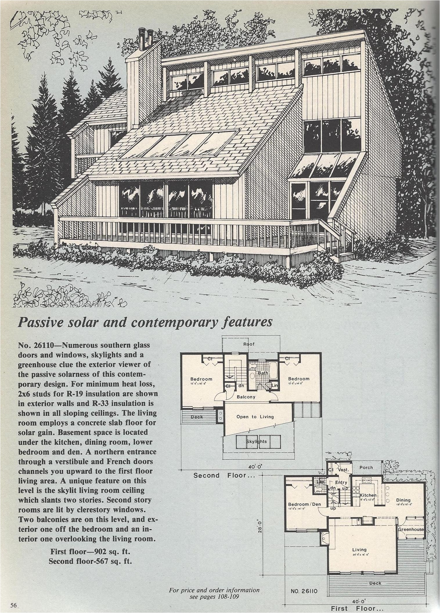 hcontemporary passive solar
