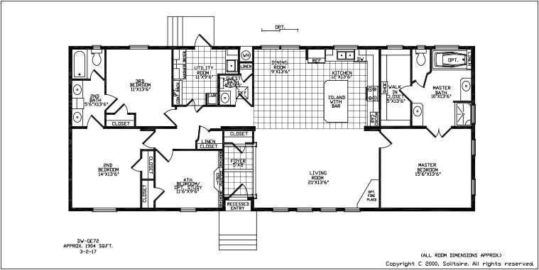 solitaire manufactured homes floor plans