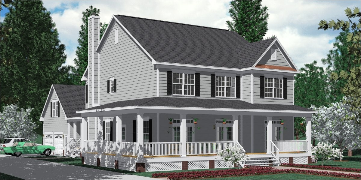 southern house plans with wrap around porches