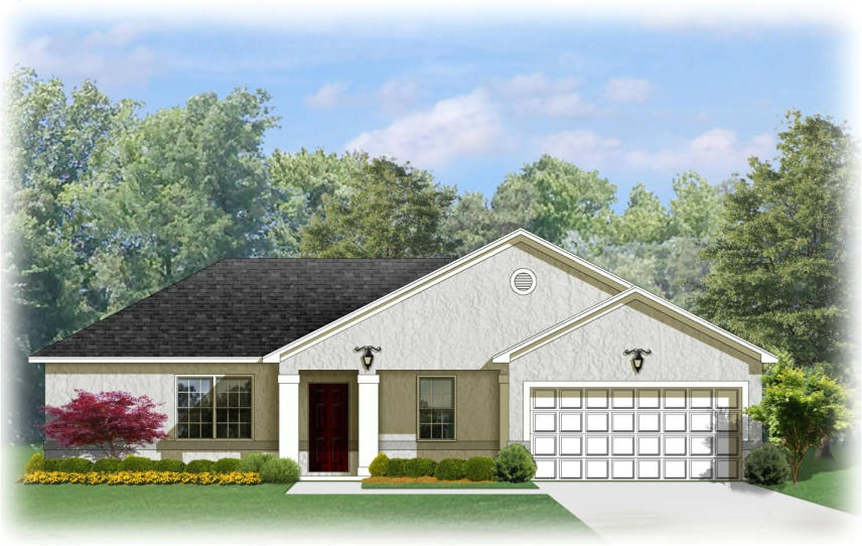 southern ranch house plan 82084ka
