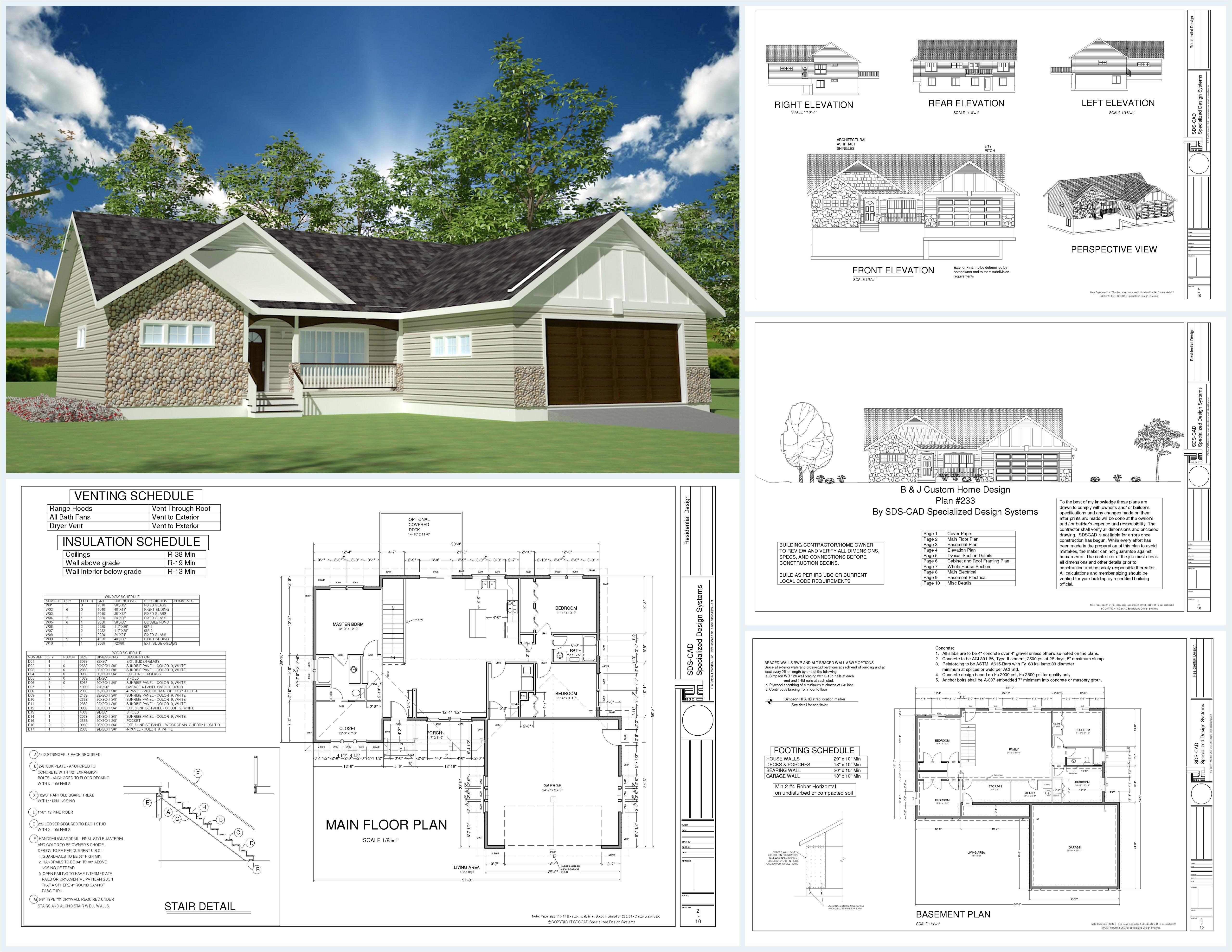 spec home plans