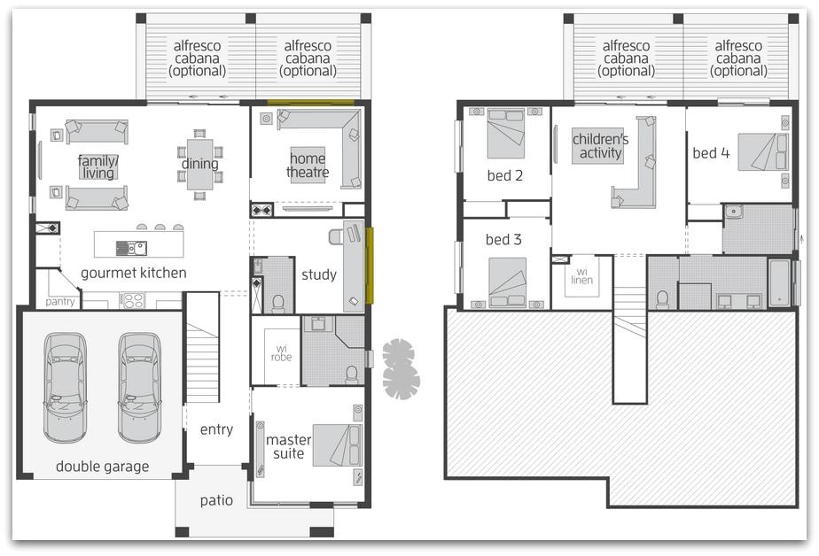 floor plan friday split level home