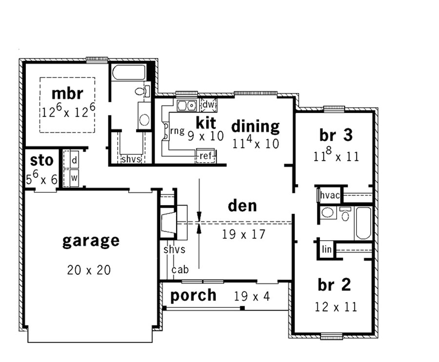 22 artistic split level open floor plan