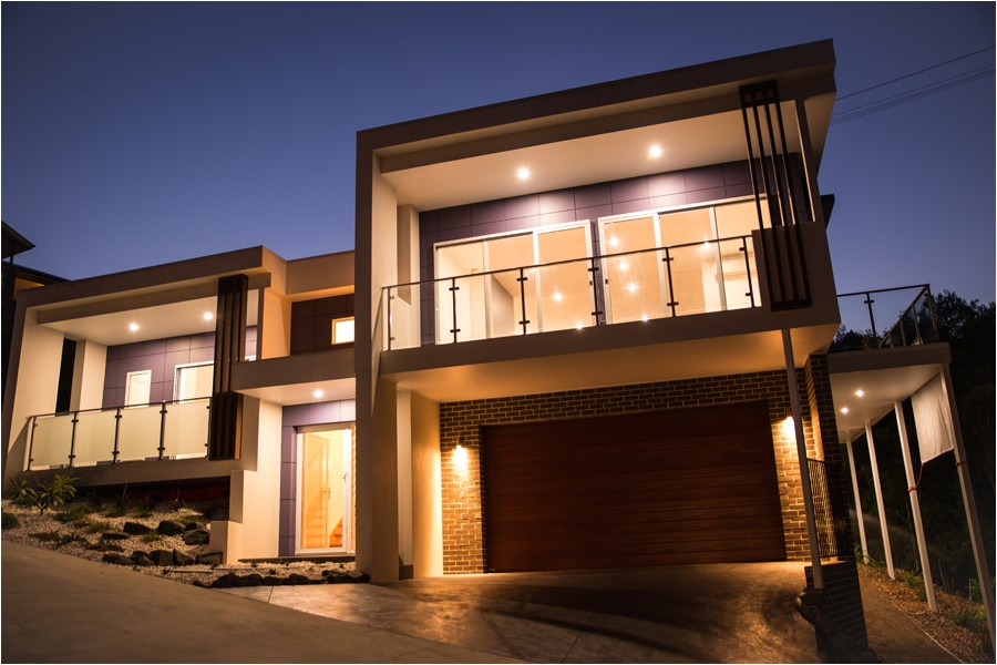 modern split level house plans australia