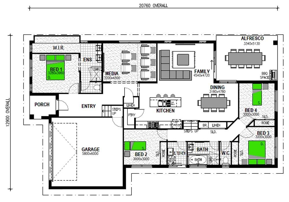split level home plans australia