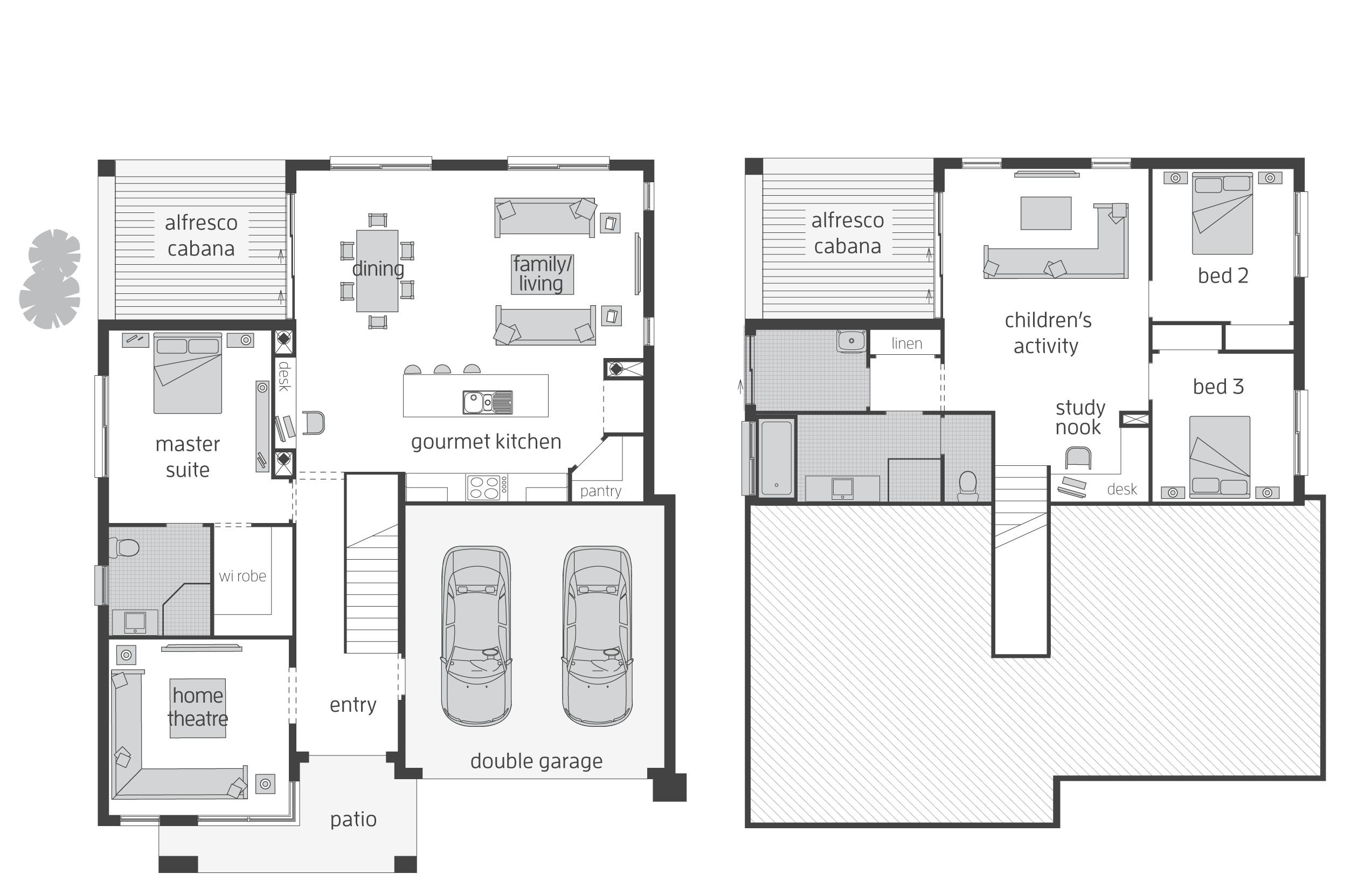 split level homes plans australia