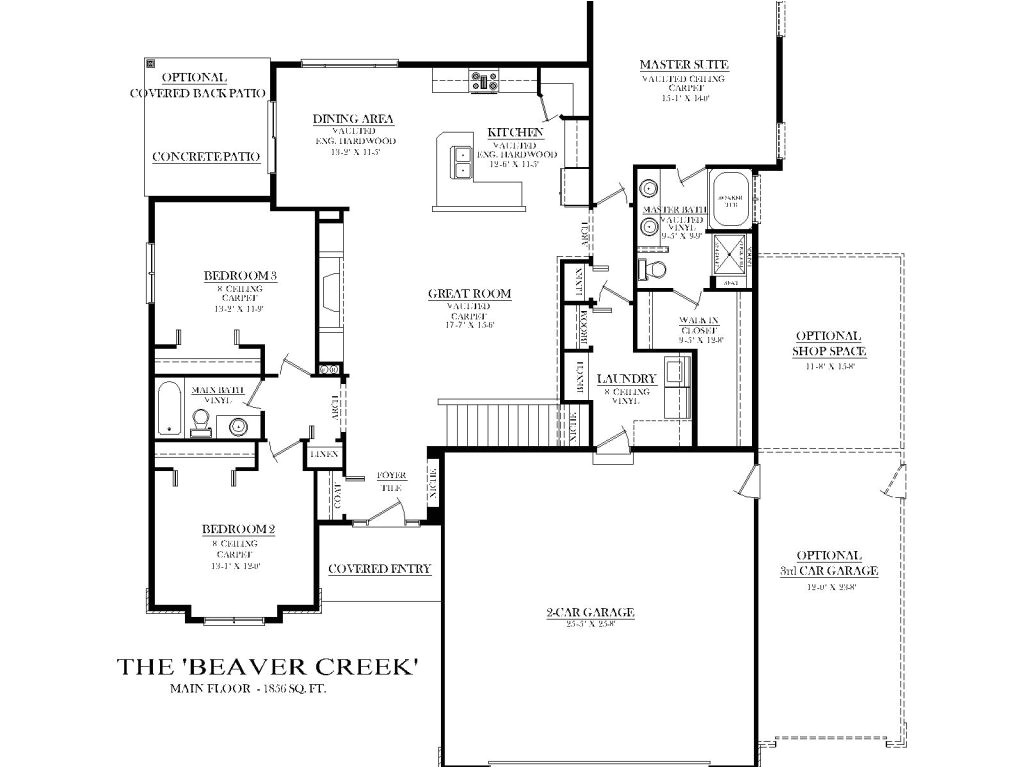 ranch house plans with split bedrooms