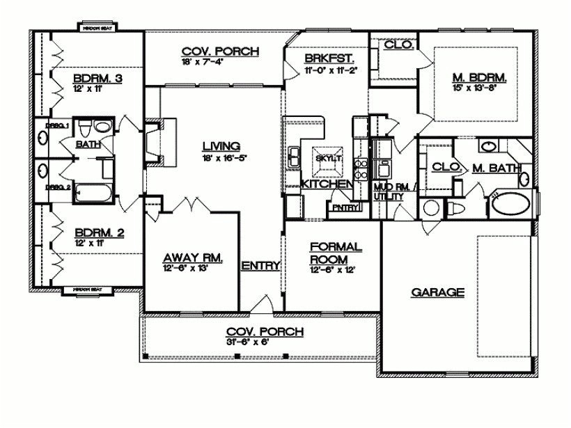 split ranch house plans luxury eplans ranch house plan texas hill country split bedroom plan