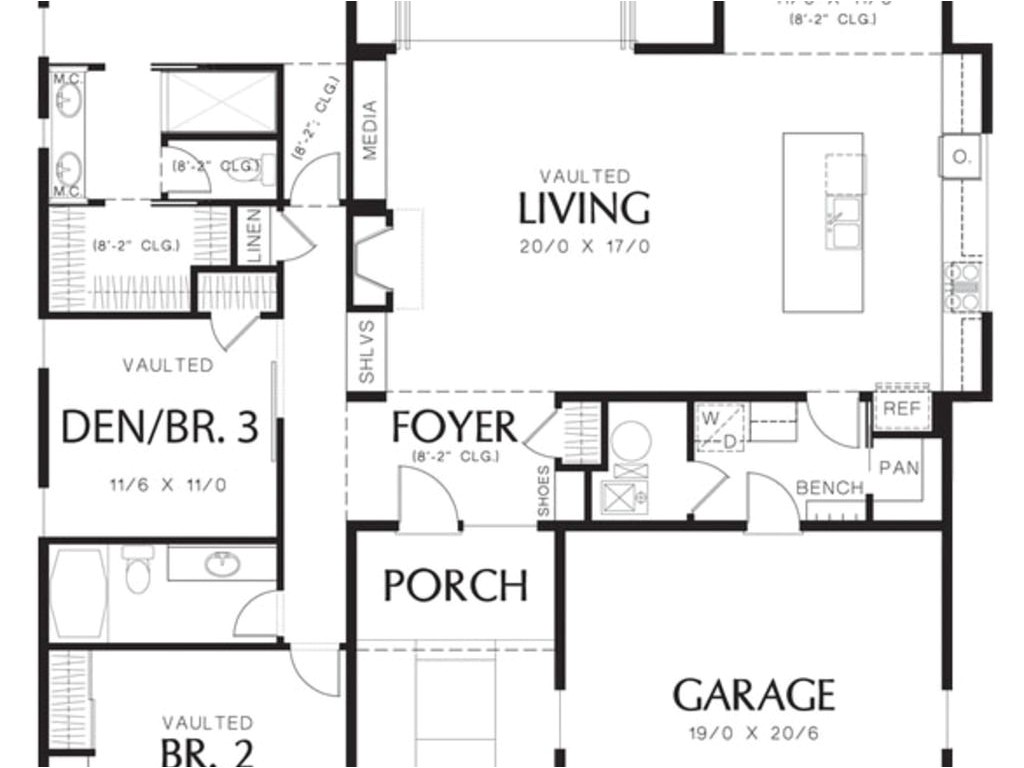 1600 square foot house plans one story
