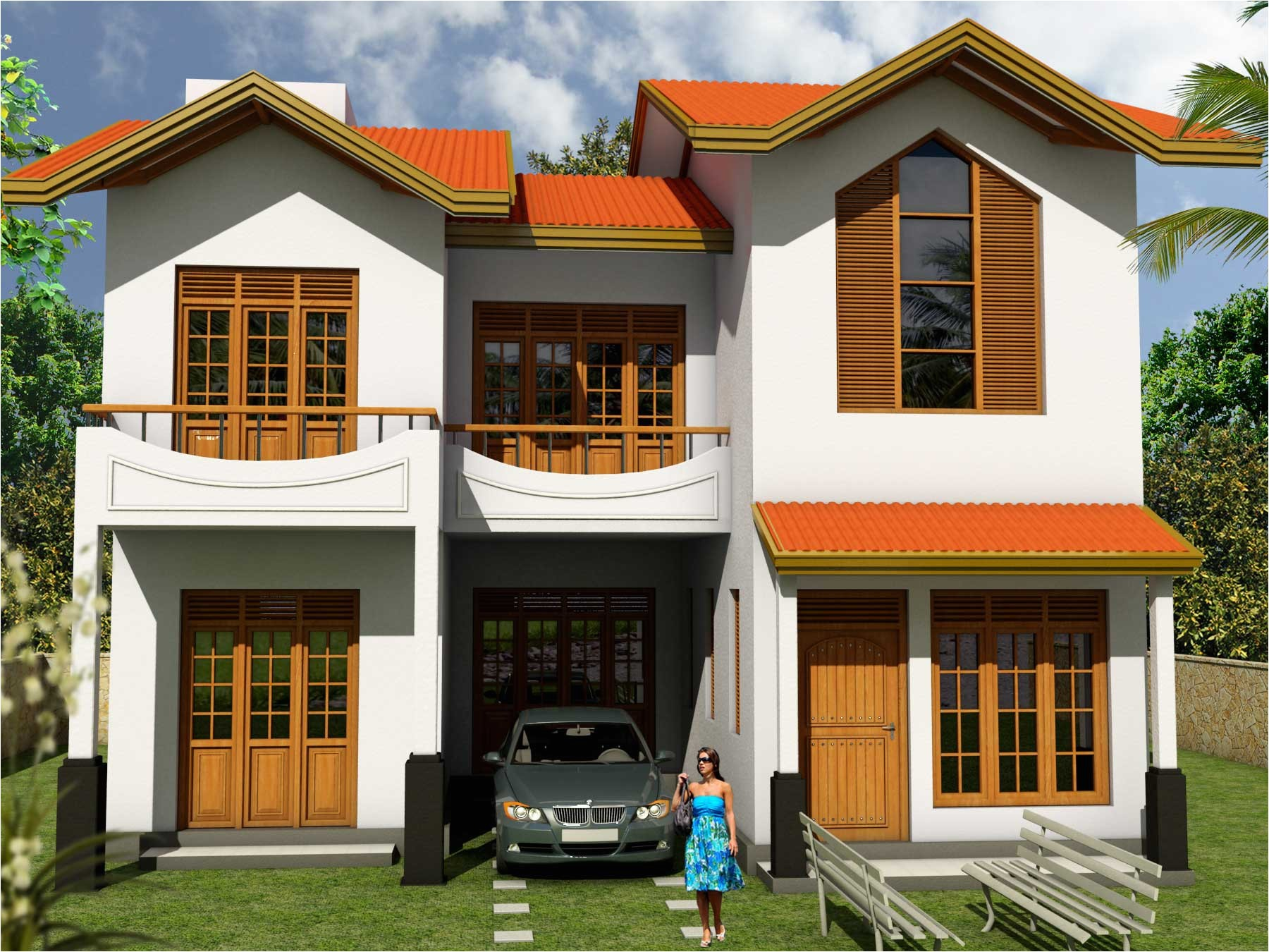 modern sri lanka house plan design