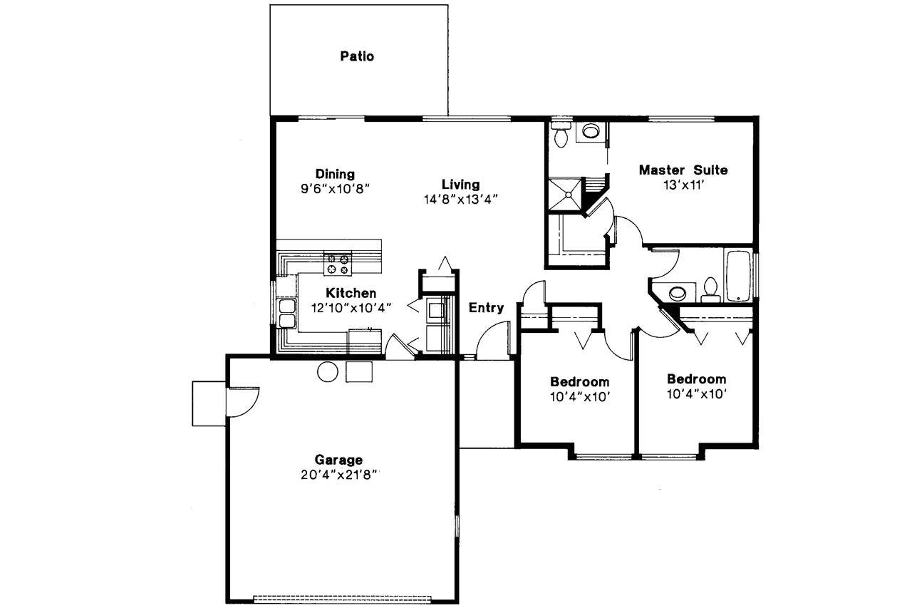 standard ranch house plans