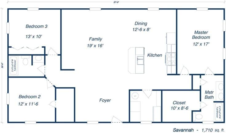 40x60 home floorplans
