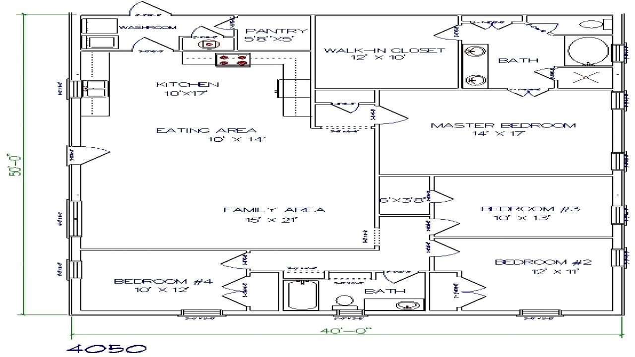 b03f38213dce527b texas barndominium floor plans 40x50 metal building house plans