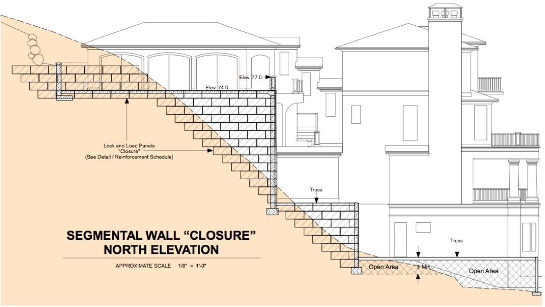 utilizing geofoam in foundation design for steep sloped lots