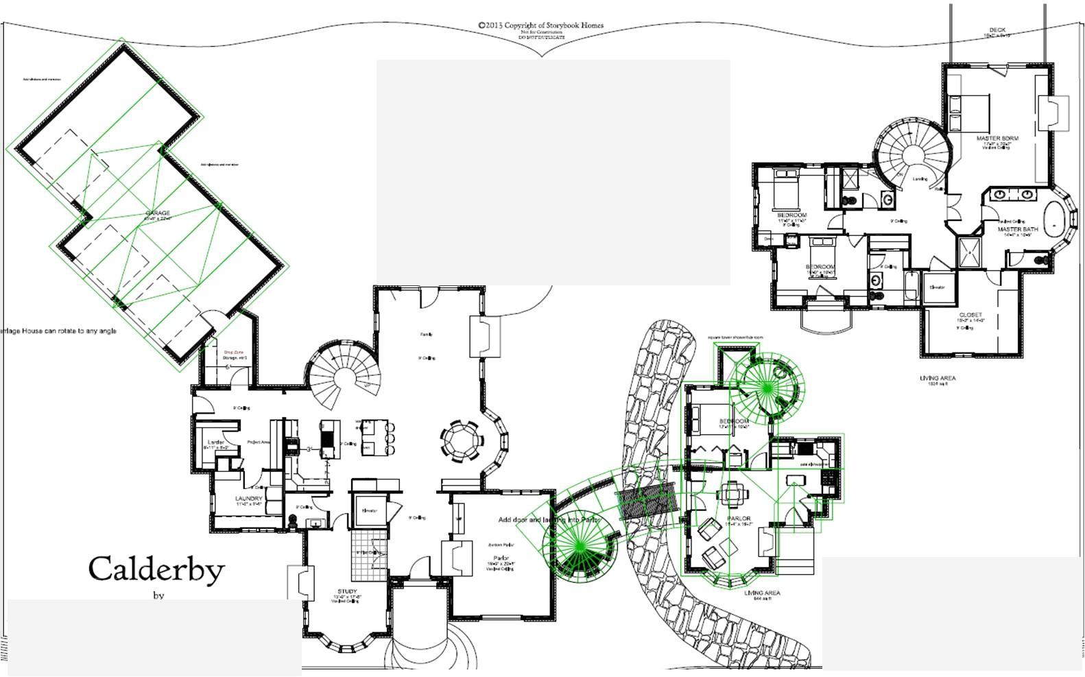 28 wonderful storybook homes floor plans