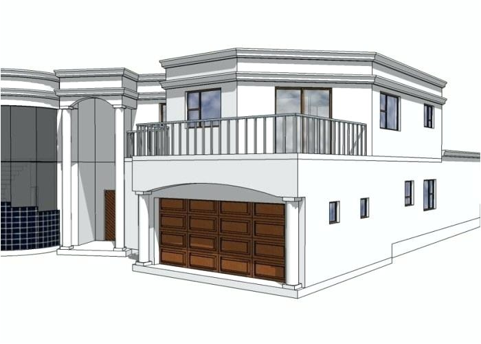 straight roof house plans