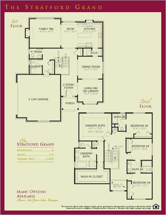 stratford floorplans