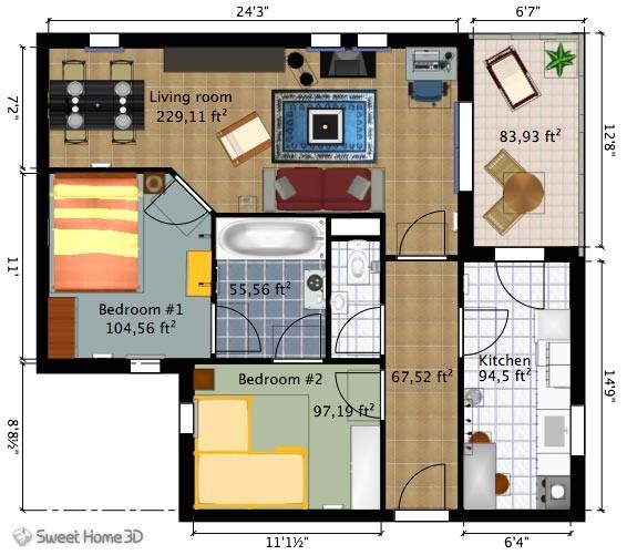 sweet home 3d floor plans luxury anwendungen